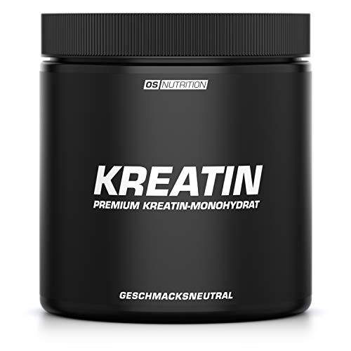 KREATIN Premium Kreatin-Monohydrat Pulver (Creapure) - OS NUTRITION geschmacksneutral 400g - made in Germany