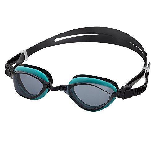 Barracuda Fenix - Schwimmbrille für Damen und Herren mit 100% UV-Schutz, Anti-Beschlag-Beschichtung, wasserdicht, aus hautverträglichem Kunststoff inklusive KOSTENLOSEM Etui #72755 (Green)