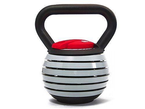 Fitness House einstelbare Kettlebell 2kg, 4kg, 6kg, 8kg, 10kg, 12kg, 14kg, 16 und 18 kg